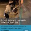Street Art en el barrio de Infonavit Morales.