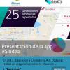 <h1> Presentación de la app #Sindea </h1>