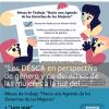 Los DESCA en perspectiva de género y de derechos de las mujeres