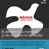 El derecho a la memoria: ¡2 de Octubre no se olvida!