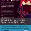 """Inauguración de Galería Informativa sobre Detenciones Arbitrarias: """"Cultura de la legalidad, juventudes y derechos humanos"""""""