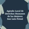 Agenda Local de Derechos Humanos de las Mujeres San Luis Potosí