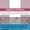TDR's Diseño, programación y mantenimiento de sitio web para el Observatorio Nacional sobre Detenciones Arbitrarias